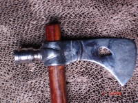 Iroquois PEACE PIPE TOMAHAWK Hatchet Indian War RTH 06